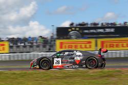 #28 Belgian Audi Club Team WRT Audi R8 LMS Ultra: Will Stevens, René Rast