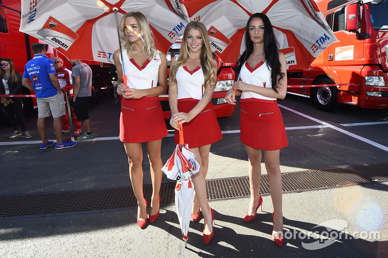 Lovely Ducati Team girls