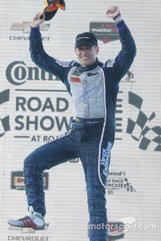 GTD podium: winner Jeroen Bleekemolen, Riley Motorsports