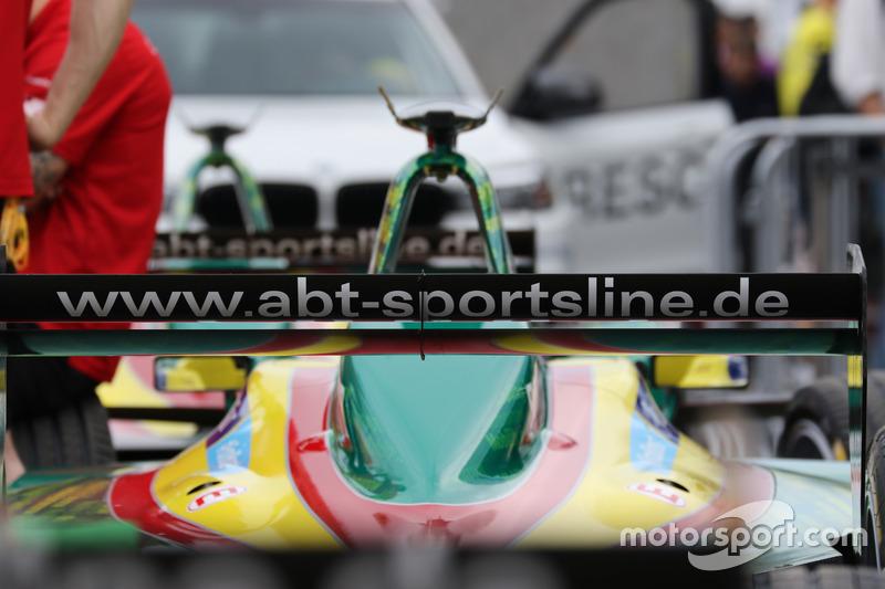 A car from ABT Schaeffler Audi Sport