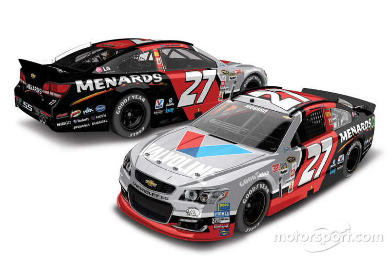 Throwback-Design von Paul Menard, Richard Childress Racing, Chevrolet