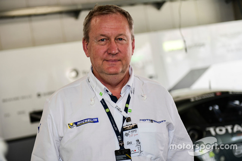 Pascal Couasnon, Michelin Motorsport Director
