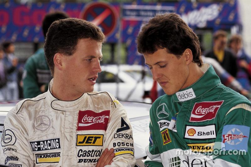 Frank Schmickler, Mercedes y Michael Schumacher, Mercedes