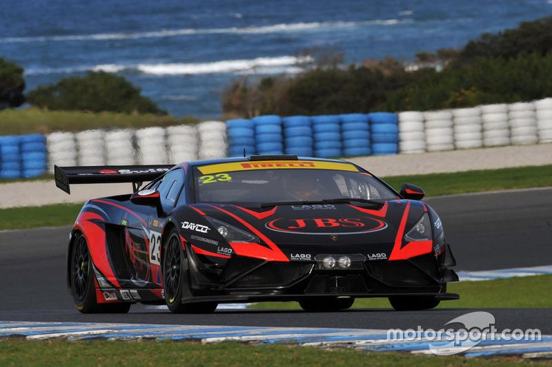 #23 JBS Australia, Lamborghini Gallardo R-EX: Roger Lago