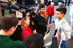 Pascal Wehrlein, Manor Racing im Gespräch mit der Presse