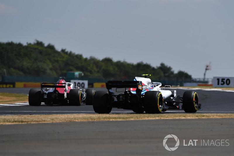Sergey Sirotkin, Williams FW41, va largo