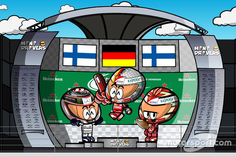 El GP de Brasil de F1 según los MiniDrivers
