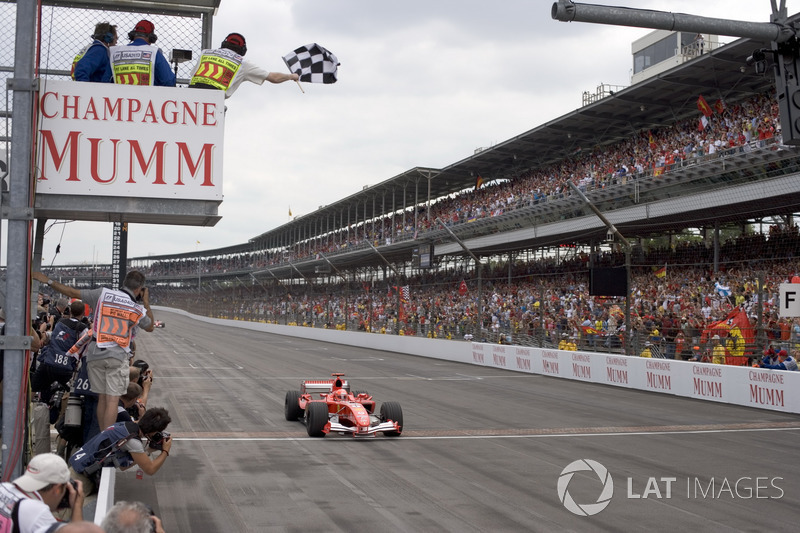 Шумахер одержал, вероятно, самую легкую победу в своей карьере