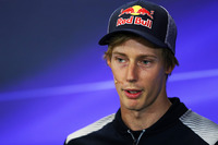 Brendon Hartley, Scuderia Toro Rosso in the Press Conference