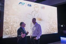 Jean Todt, President, FIA with Bruno Michel