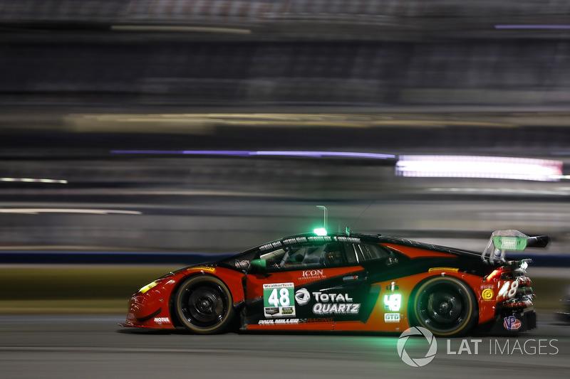 44.- #48 Paul Miller Racing Lamborghini Huracan GT3, GTD: Madison Snow, Bryan Sellers, Andrea Caldarelli, Bryce Miller