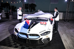 Jens Marquardt, BMW Motorsport director unveil the BMW M8 GTE