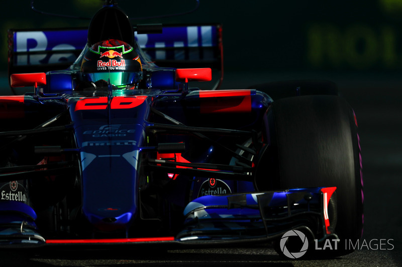 TORO ROSSO: Brendon Hartley 2 x 1 Pierre Gasly