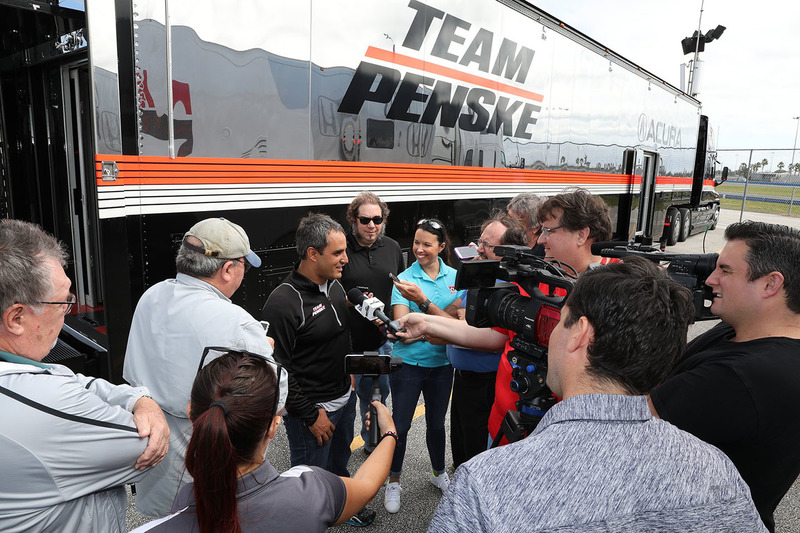 Acura-Test in Daytona