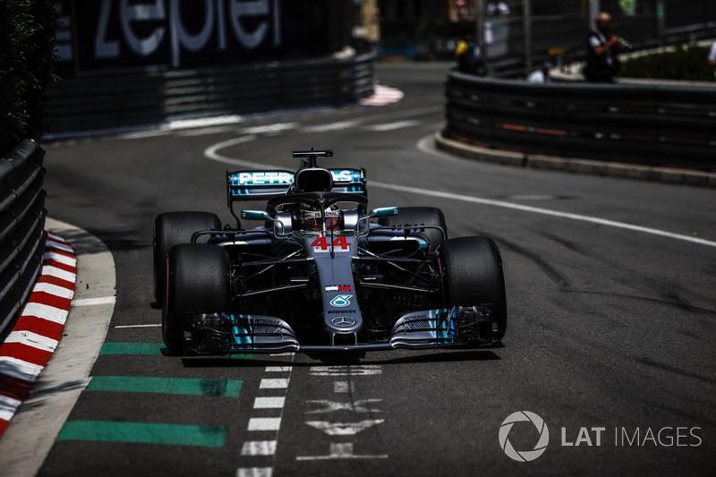 3. Lewis Hamilton, Mercedes-AMG F1 W09