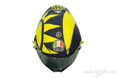 Presentazione del casco di Valentino Rossi