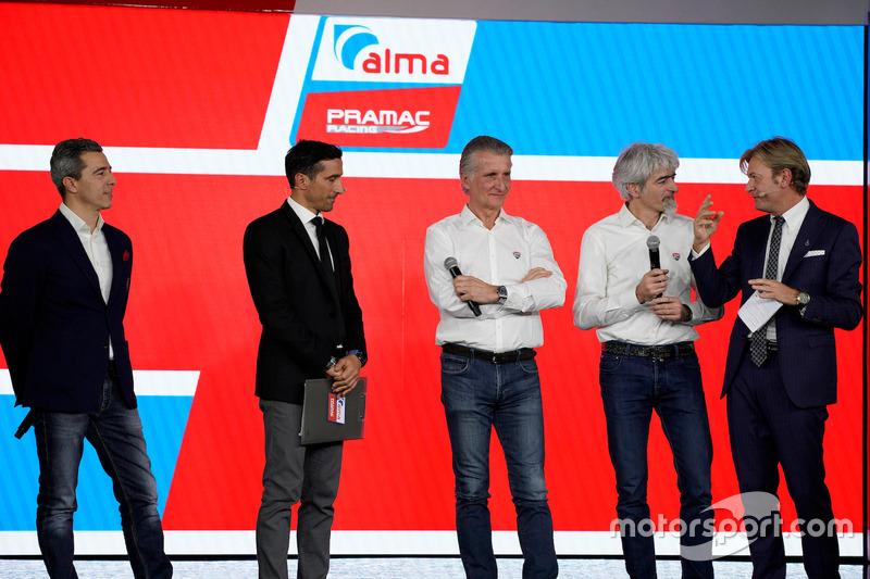 Francesco Guidotti, Davide Camicioli, Paolo Ciabatti, Gigi Dall'Igna e Sandro Donato Grosso