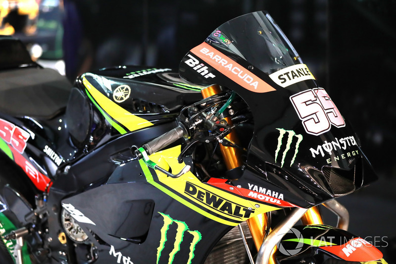 Hafizh Syahrin, Monster Yamaha Tech 3 fairing