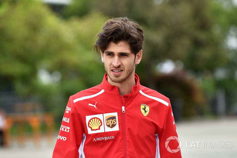 Antonio Giovinazzi, pilote de réserve Ferrari