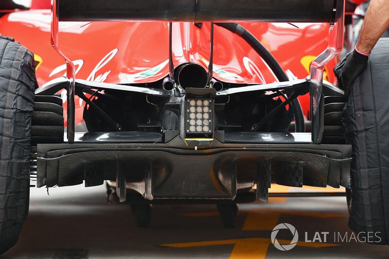 Ferrari SF71H rear diffuser