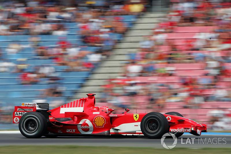 2006: Michael Schumacher, Ferrari 248 F1