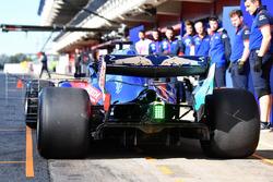 Scuderia Toro Rosso STR13, dettaglio posteriore