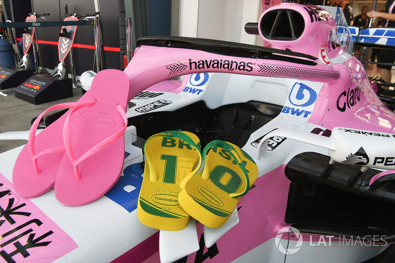 Sandal Havaianas sponsori Force India