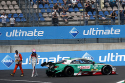 Nico Müller, Audi Sport Team Abt Sportsline, Audi RS 5 DTM after the crash