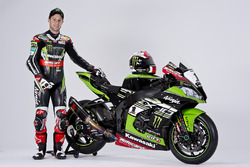 Jonathan Rea with the Kawasaki Ninja ZX-10R
