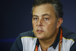 Mario Isola, Racing Manager, Pirelli Motorsport, nella conferenza stampa FIA