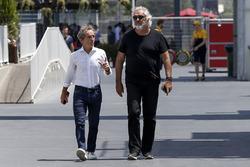 Alain Prost, Renault-Berater und Flavio Briatore