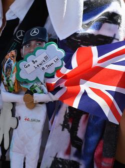 Lewis Hamilton, Mercedes AMG F1 fan