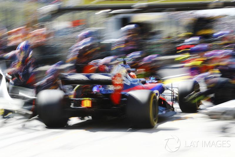 Данііл Квят, Scuderia Toro Rosso STR12, піт-стоп