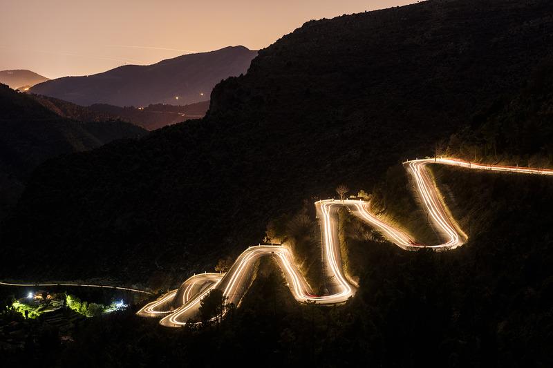 Славнозвісні і підступні дороги поблизу Монте-Карло