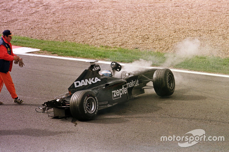 Crash: Mika Salo, Arrows