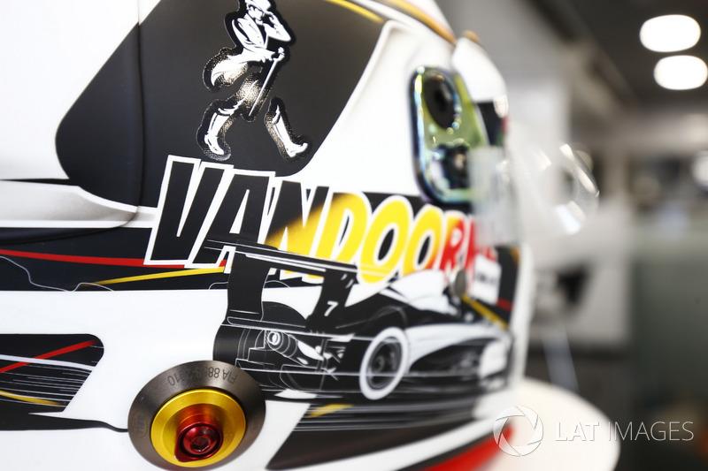 Шолом Стоффеля Вандорна, McLaren