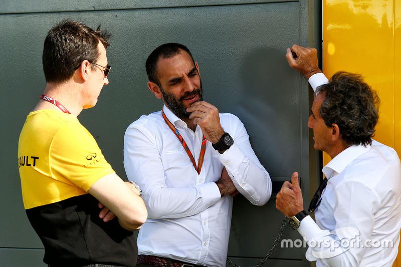 Cyril Abiteboul, Renault Sport F1 y Alain Prost, Renault Sport F1 Team