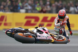 Marc Marquez, Repsol Honda Team crash