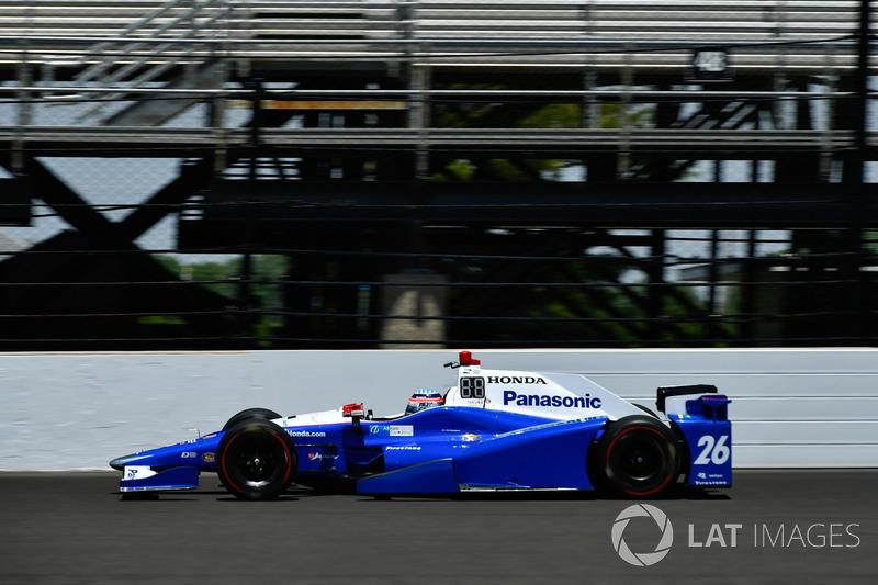 4. Takuma Sato, Andretti Autosport, Honda