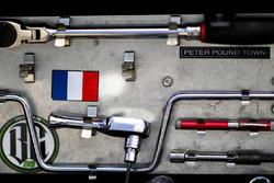 Sébastien Bourdais, Dale Coyne Racing Honda caja de herramientas
