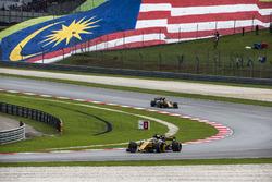 Nico Hulkenberg, Renault Sport F1 Team RS17 and Jolyon Palmer, Renault Sport F1 Team RS17