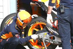 Marc Marquez, Repsol Honda Team Michelin tyre