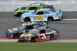 Ty Dillon, Richard Childress Racing Chevrolet, Brennan Poole, Chip Ganassi Racing Chevrolet, Daniel Hemric, Richard Childress Racing Chevrolet, and Dakoda Armstrong, JGL Racing Toyota