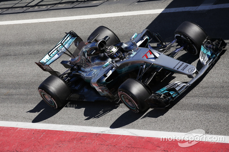 Валттері Боттас, Mercedes F1 W08