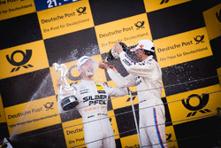 Podium: Maro Engel, Mercedes-AMG Team HWA, Mercedes-AMG C63 DTM en Bruno Spengler, BMW Team RBM, BM