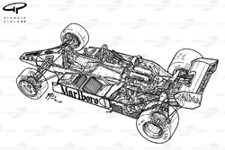 McLaren MP4-1E 1983 detailed overview