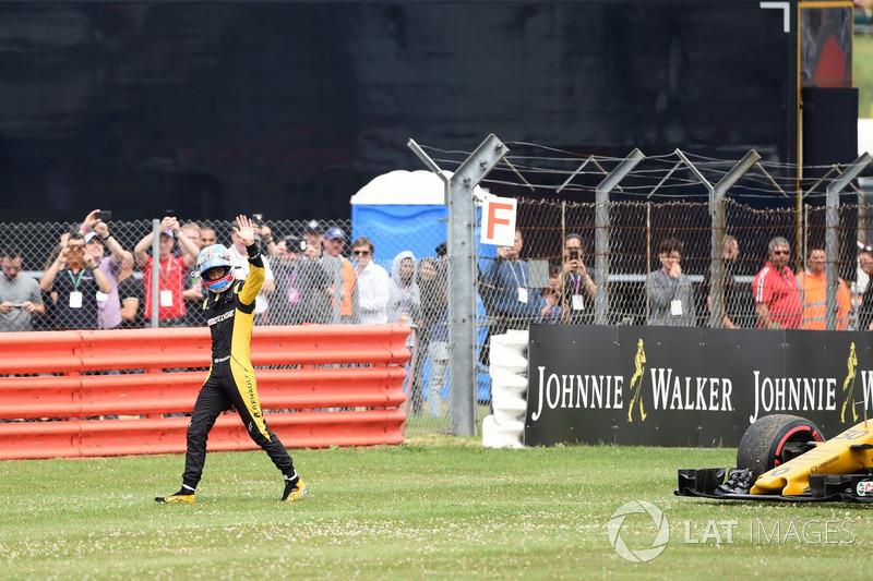 Ausfall: Jolyon Palmer, Renault Sport F1 Team RS17
