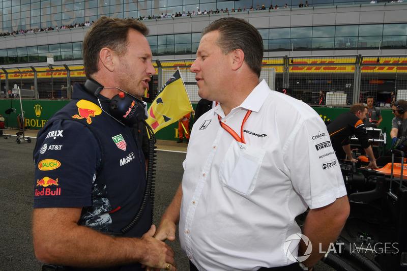 Керівник Red Bull Racing, виконавчий директор McLaren Зак Браун