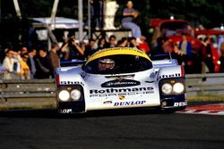 Al Holbert, Hurley Haywood, Vern Schuppan, Porsche 956
