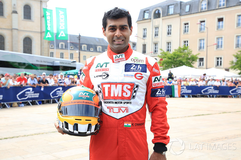 Formula 1 Gallery: Chandhok at 2017 Le Mans 24 Hours